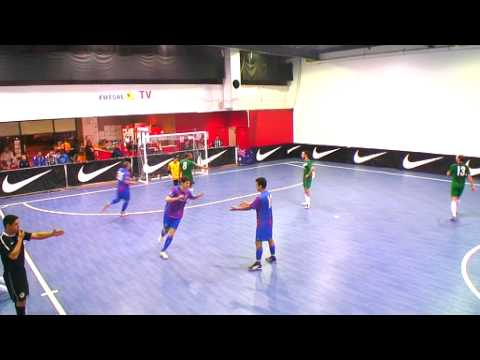 'FUTSAL' Top Scorers 'Futbol Sala, Best Futsal Goals, Futsal Skills and Tricks'