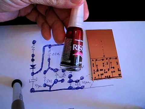 How to make circuit boards fast - Dx way
