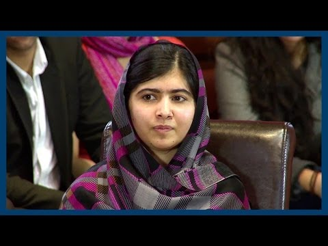 The True Meaning of Power | Malala Yousafzai | Oxford Union