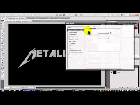 Como hacer letras metalicas en photohop cs5.mp4