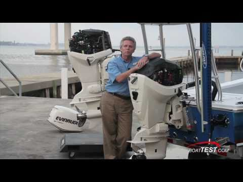 Evinrude E-TEC 115-hp Outboard Engine 2011 Performance Test - By BoatTest.com