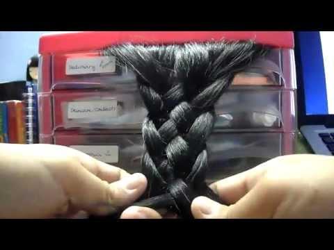 Como fazer Tranças de 5 fios ... Tharsis