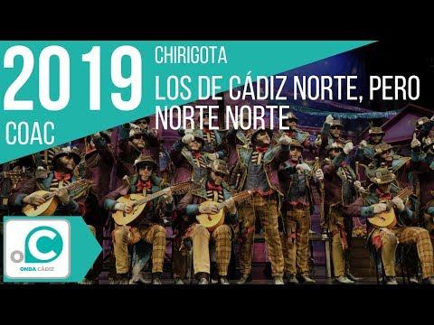 Sesión de Preliminares, la agrupación Los de Cádiz norte, pero norte norte actúa hoy en la modalidad de Chirigotas.
