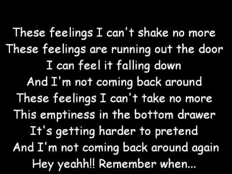 Remember When - Avril Lavigne (lyrics) -wZOxAK1hfbY