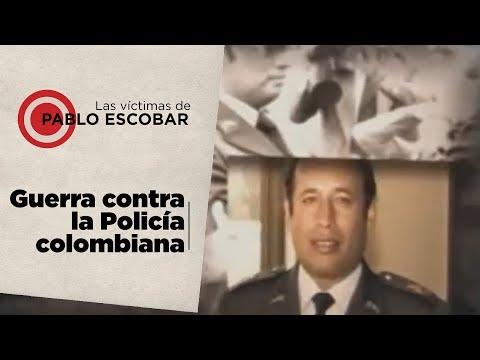 En las Víctimas de Pablo Escobar, muerte a los policias de Medellín