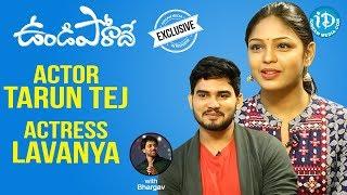 Undiporaadhey Movie Actors Tarun Tej & Lavanya Full Interview || Talking Movies With iDream - IDREAMMOVIES