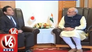 Modi government MOU with Japan on investment in India - V6NEWSTELUGU