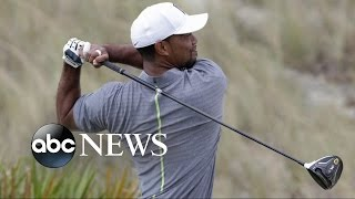 Tiger Woods Returns to the Links After 15-Month Layoff - ABCNEWS