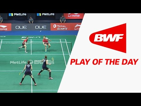 Play Of The Day | Badminton F - OUE Singapore Open 2017