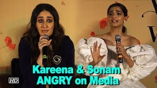 Watch why Kareena & Sonam got ANGRY on Media - IANSLIVE