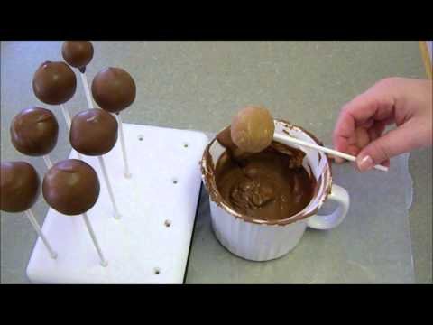 How to Dip Cake Pops