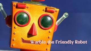 Royalty Free :Warble the Friendly Robot