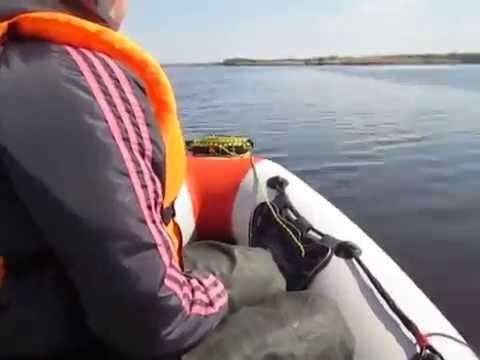 лодка гладиатор тест драйв