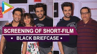 Manish Paul & others at the special screening of short-film 'Black Briefcase' - HUNGAMA