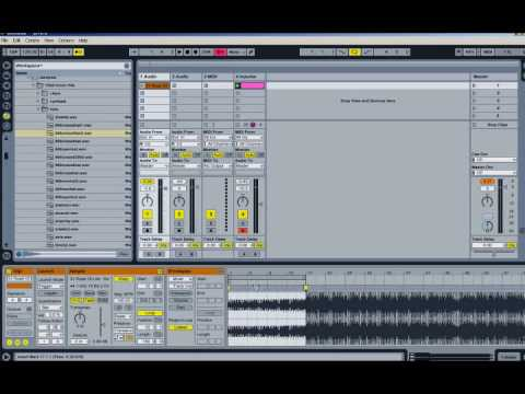 How to Warp a song in Ableton 8