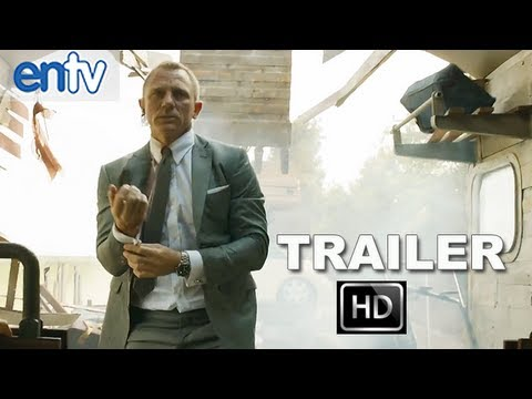James Bond Skyfall Official Domestic Trailer [HD]: Daniel Craig, Javier Barden & Helen McCrory