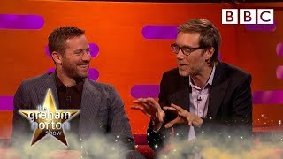 Stephen Merchant saved by Her Royal Highness Claire Foy 👑🥊 - BBC - BBC