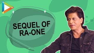 Does 2.0 inspire Shah Rukh Khan to make a sequel of Ra-One? - HUNGAMA