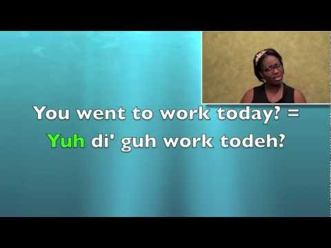 LESSON 1- Learn Basic Jamaican Patois- Subject Pronouns