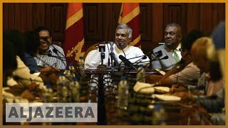 🇱🇰Sri Lanka parliament 'votes against newly appointed PM Rajapaksa' l Al Jazeera English - ALJAZEERAENGLISH
