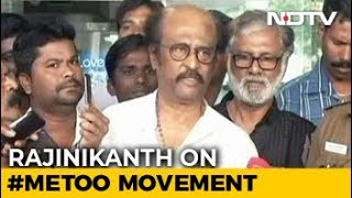 Rajinikanth Supports #MeToo Movement, But Cautions Women Against Misuse - NDTV