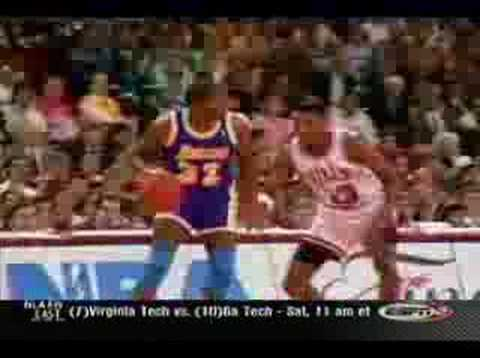 Scottie Pippen's defense on Magic Johnson - 1991 NBA Finals