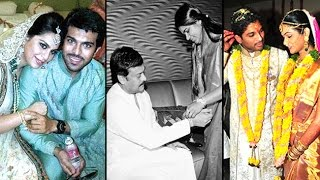 Tollywood Big Fat Weddings Candid | Ram Charan Allu Arjun - LEHRENTELUGU