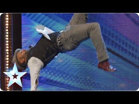 Joseph Hall's dance fusion of classic and modern | Week 6 Auditions | Britain's Got Talent 2013