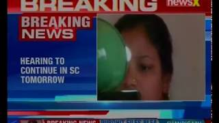 Aadhar case hearing adjourned for today; hearing to continue in SC tomorrow - NEWSXLIVE