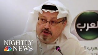 Saudis Admit That Jamal Khashoggi Is Dead | NBC Nightly News - NBCNEWS