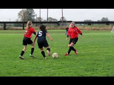 Ina 8 year old soccer player goal scoring highlights fall 2012