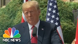 President Trump Says He Will 'Absolutely' Bring Up Election Meddling With Vladimir Putin | NBC News - NBCNEWS