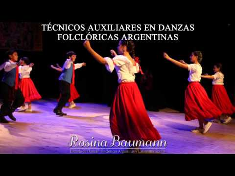 Tcnicos Auxiliares en Danzas Folclricas Argentinas