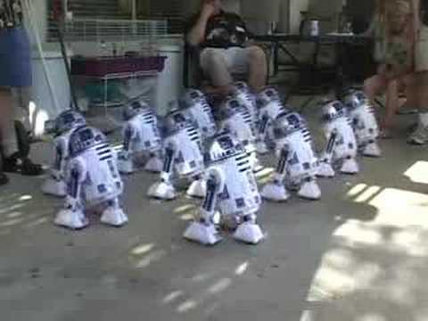 Sigue el ritmo de R2D2