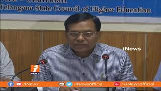 1.2Lakh Students Get Seats in DOST Phase-1 | Convener Naveen Mittal | iNew - INEWS