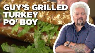 Guy's Grilled Turkey Po' Boy | Food Network - FOODNETWORKTV