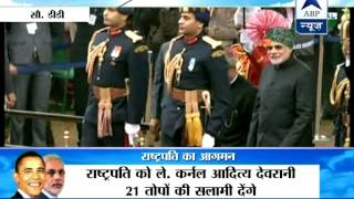 India celebrates 66th Republic Day l Tricolour unfurled - ABPNEWSTV