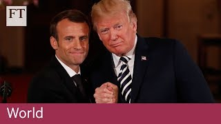 Macron and Trump seek common ground on Syria - FINANCIALTIMESVIDEOS