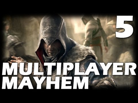 Assassin's Creed: Revelations Multiplayer Mayhem - Episode 5 (Deathmatch Gameplay Commentary)