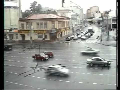 Moscow Cars Accidents Compilation