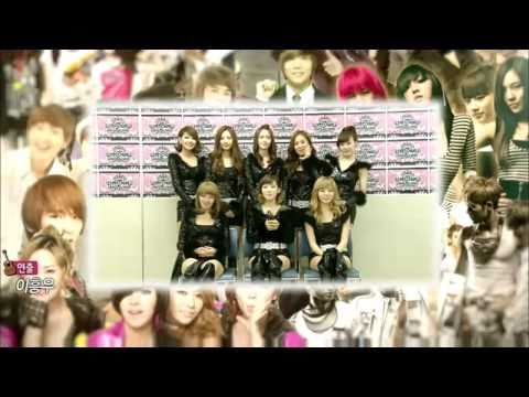 110204 SNSD Cuts [HD] @ Idol Star 7080