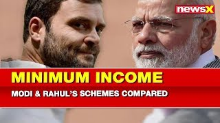 Minimum Income Guarantee Scheme: PM Narendra Modi vs Rahul Gandhi compared - NEWSXLIVE