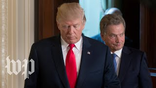 Trump meets with President Sauli Niinisto of Finland - WASHINGTONPOST