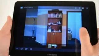 Samsung Galaxy Tab 10.1 - видео обзор P7500 от  Video-shoper.ru