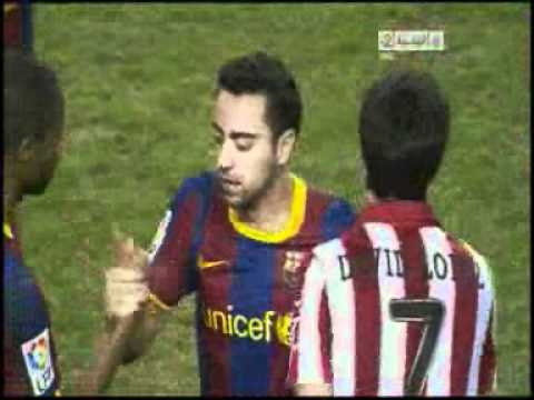 goals of Athletic Bilbao vs FC Barcelona 1 1 copa del rey 6 1 2011