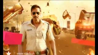 Watch Singham Returns, tonight at 9 PM only on Star GOLD - STARGOLD