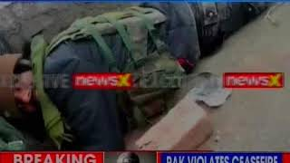 Ceasefire Violation, Nowshera, Jammu Kashmir: Pakistan Bunker destroyed, LeT commander Eliminated - NEWSXLIVE