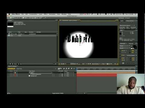 How to cast shadows in Adobe After Effects(Light & Shadows)