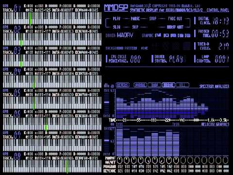 [MDX] Strip Fighter 2 - Pynthia's Theme (Sharp X8000)