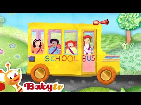 Nursery rhymes - The Wheels on the Bus -wizTRHZc-uM